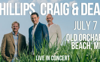 Phillips, Craig and Dean in Concert at Old Orchard Beach, Maine on July 7