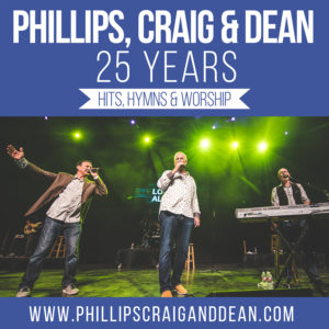 Phillips, Craig and Dean Concerts in September 2017 Hits Hymns Worship Tour