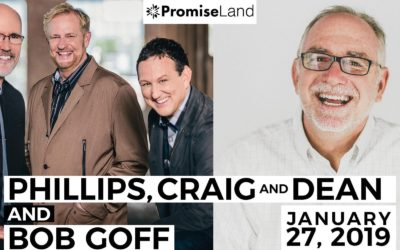 Phillips, Craig and Dean with Bob Goff in Austin, Texas January 27