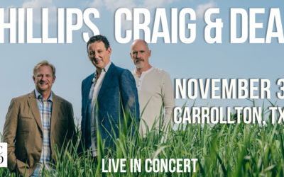 Phillips, Craig and Dean Return to Dallas-Fort Worth November 3!