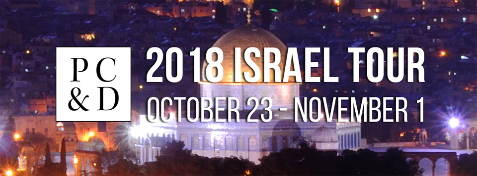 Phillips Craig and Dean 2018 Israel Tour